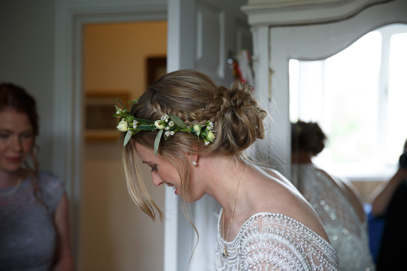 Devon Wedding Hair - Bridal hair - Wedding hair styling for bride and bridesmaids